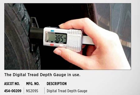 See a Digital Thread Depth Gauge In Use